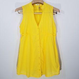 Ali & Kris Blouse Sleeveless Waist tie Size M